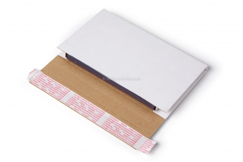 3) You wrap the packaging around the DVD