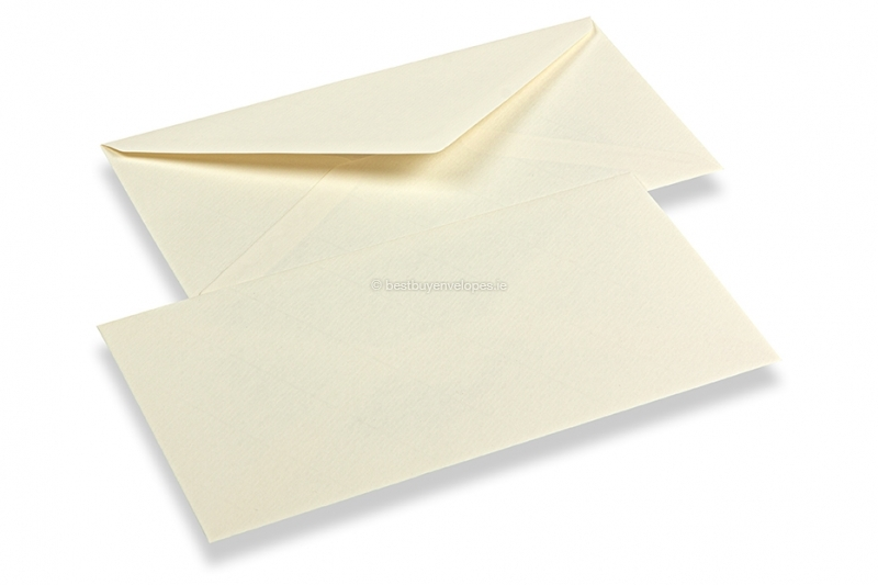 Laid envelopes ivory white