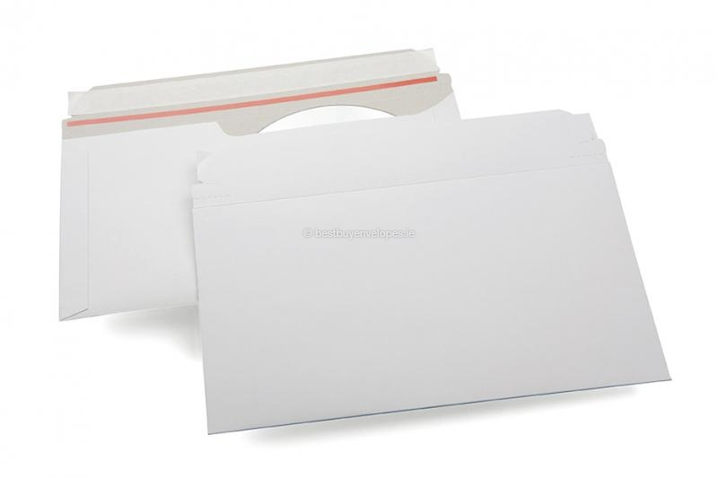 Cardboard envelopes with multimedia pocket - CD/DVD envelope without window