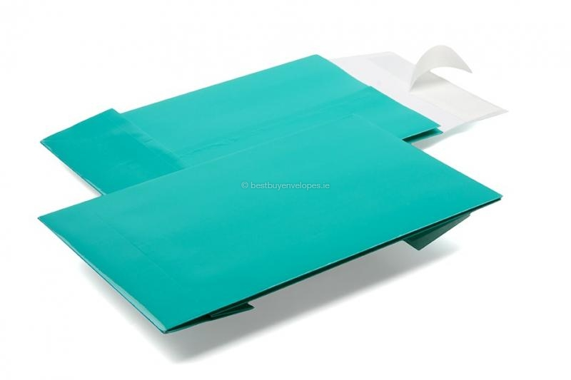 Turquoise gift bags