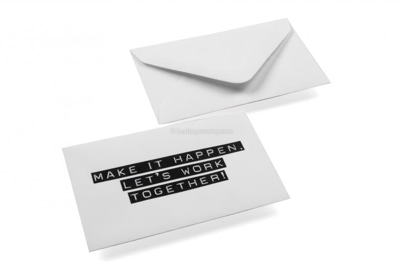 Looking to order patterned business card envelopes online patterned business card envelopes make it happen white reheart Choice Image